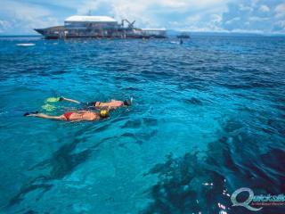 Quicksilver Wavepiercer - Snorkelling